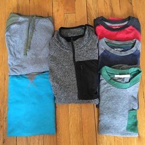 Boys L-XL Long Sleeves Shirt Bundle 6 for $20